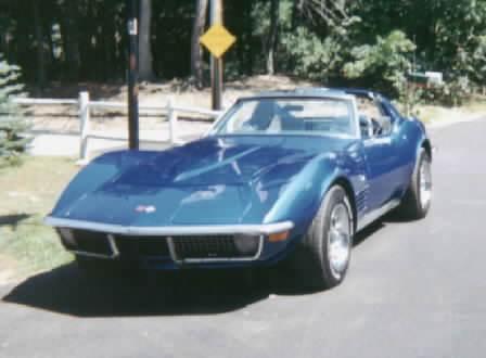 Corvette Stingray on 1971 Corvette Stingray